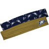 Georgia Southern Gold Solid And Blue Repeat Logo Headband Set