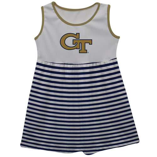 Georgia Tech Sleeveless Tank Dress