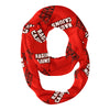 Louisiana At Lafayette All Over Logo Red Infinity Scarf - Vive La Fête - Online Children's Apparel