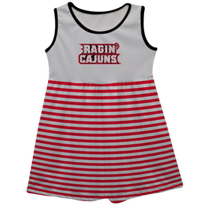 Louisiana At Lafayette Sleeveless Tank Dress - Vive La Fête - Online Children's Apparel