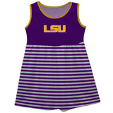 LSU Sleeveless Dress - Vive La Fête - Online Apparel Store