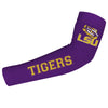 LSU Tigers Purple Arm Sleeves Pair - Vive La Fête - Online Children's Apparel