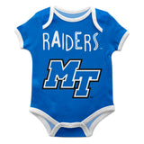 Middle Tennessee Blue Solid Short Sleeve Onesie