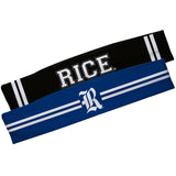 Rice Owls Blue And Black Stripes Headband Set - Vive La Fête - Online Apparel Store