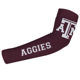 Texas A&M Maroon Arm Sleeves Pair - Vive La Fête - Online Apparel Store