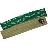 Alabama At Birmingham Green Solid And Green Repeat Logo Headband Set