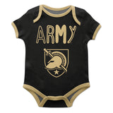 United States Military Academy Black Solid Short Sleeve Onesie