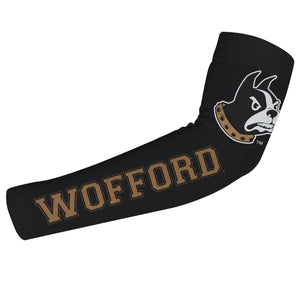 Wofford Black Arm Sleeves Pair - Vive La Fête - Online Children's Apparel