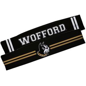 Wofford Black And Black Stripes Headband Set - Vive La Fête - Online Children's Apparel