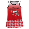 Western Kentucky Degrade Red Sleeveless Lily Dress - Vive La Fête - Online Apparel Store