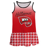 Western Kentucky Degrade Red Sleeveless Lily Dress