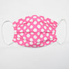 Pink with White Dots Face Mask Set of Five - Vive La Fête - Online Apparel Store