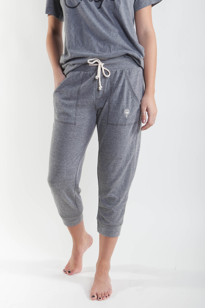 Half Day Liberty Cozies-Eco Grey/ Natural