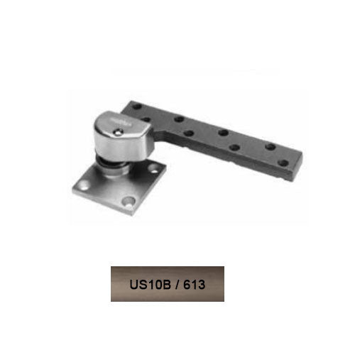 Rixson L147 LH 613 Heavy Weight 3/4 Offset Pivot Set Lead Lined Door Oil Rub Bronze Up To 800 LB Doors - Rixson Pivots