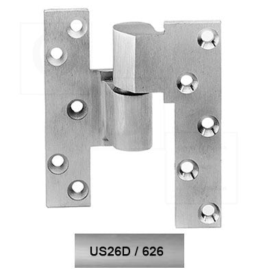 Rixson ML19 LH 626 3/4 Offset Intermediate Pivot Heavy for Lead Lined Door Satin Chrome Finish - Rixson Pivots