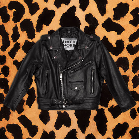 KIDS LEATHER JACKET - I NEED MORE