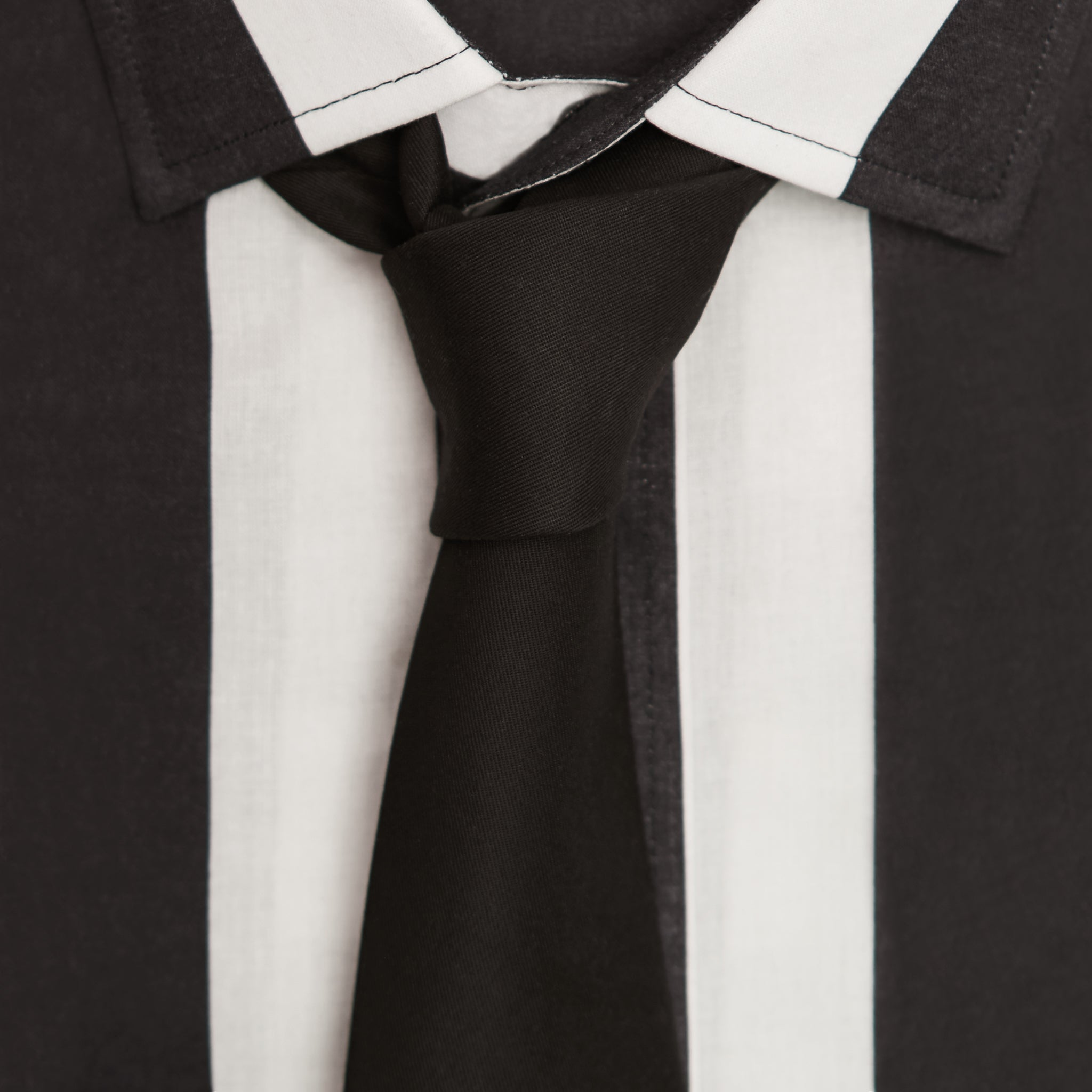 """PAINT IT BLACK"" COTTON TIE"