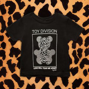 JOY DIVISION 'TOY DIVISION' KIDS T-SHIRT (BLACK)