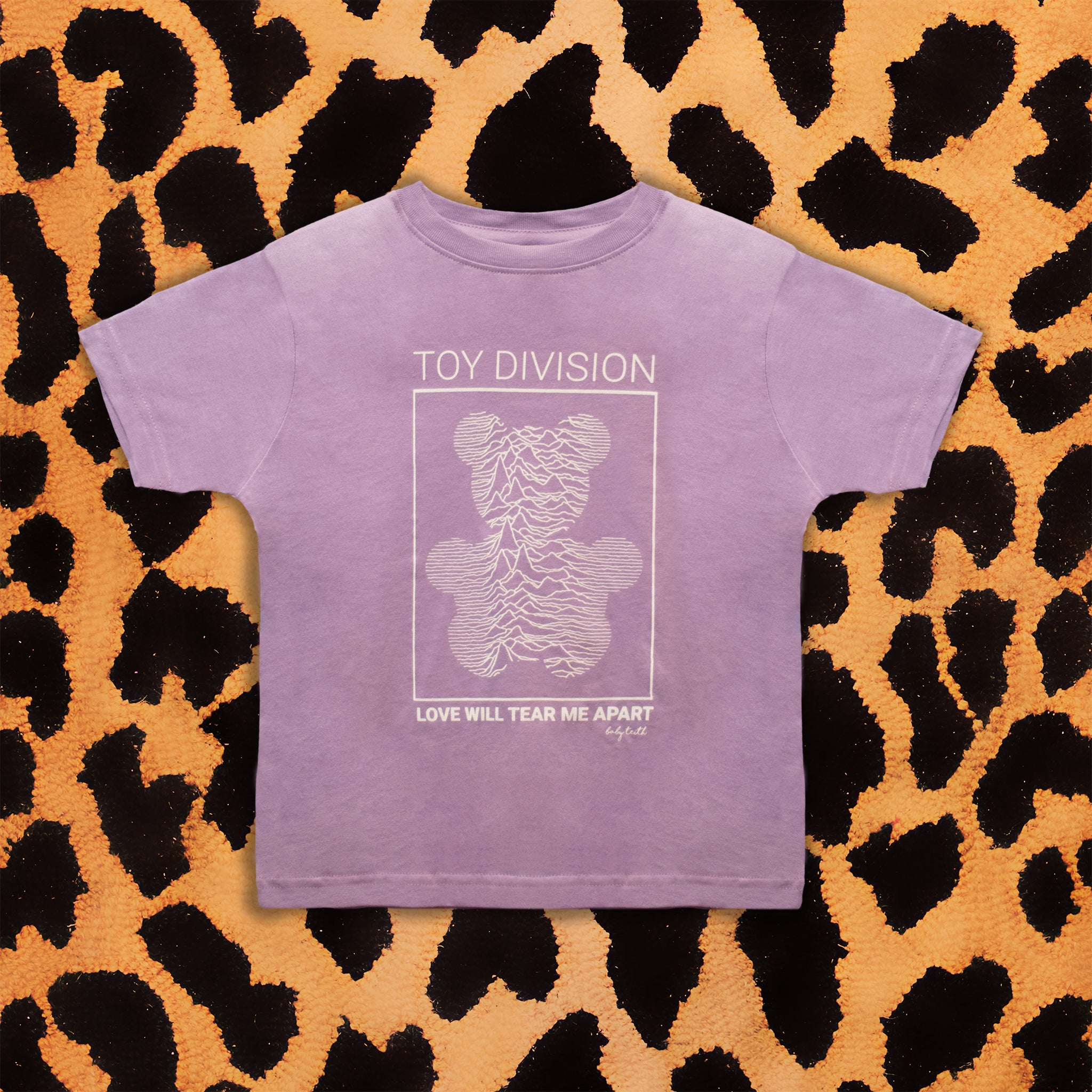 JOY DIVISION 'TOY DIVISION' KIDS T-SHIRT (LAVENDER)