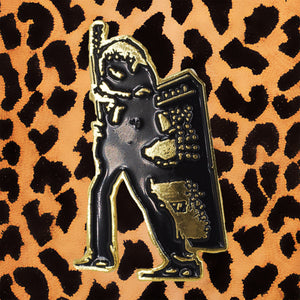 T.REX 'ELECTRIC WARRIOR' ENAMEL PIN