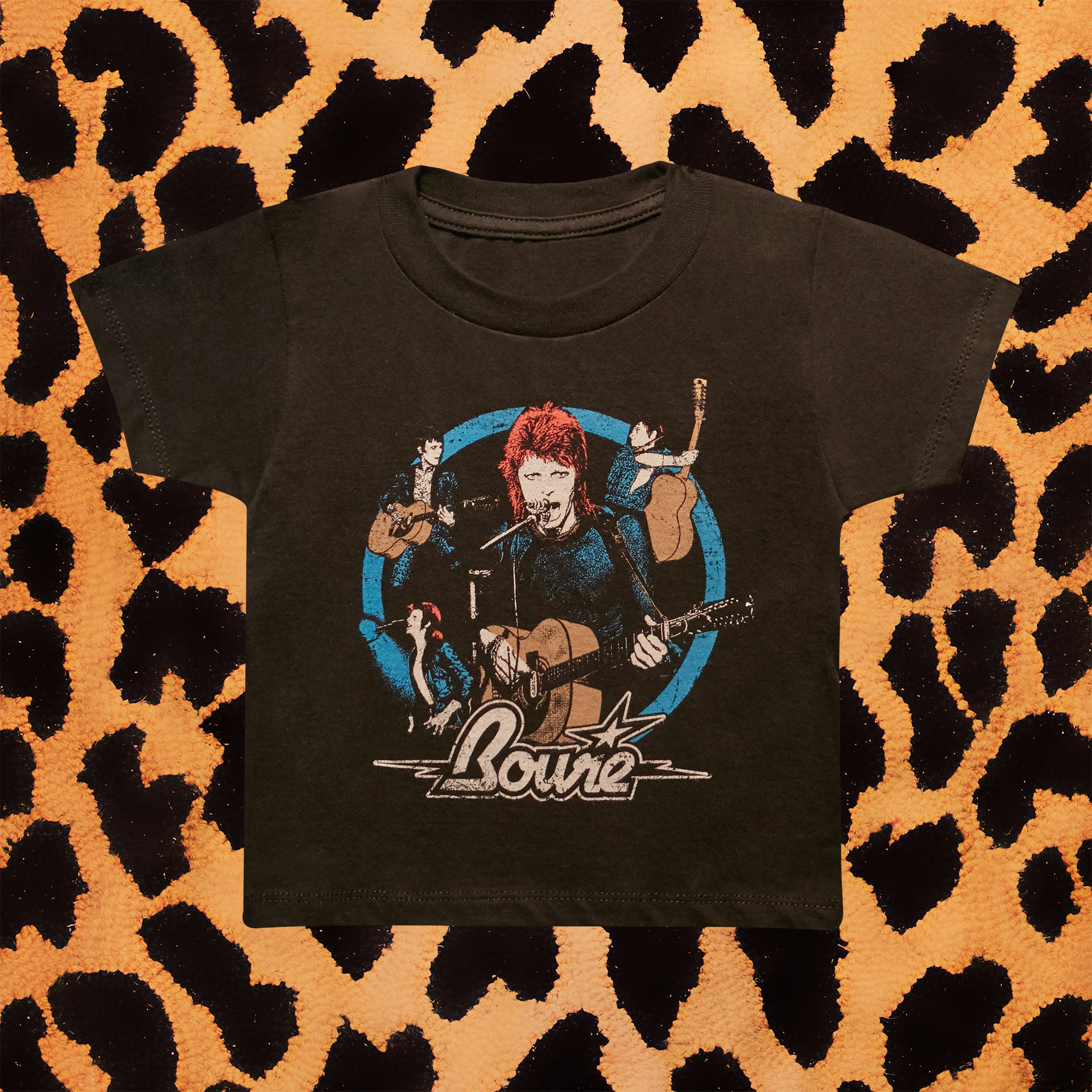 DAVID BOWIE 'COLLAGE' KIDS T-SHIRT