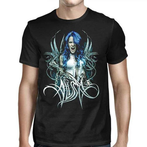 ALISSA ARCH ENEMY PHOTO LOGO SHIRT