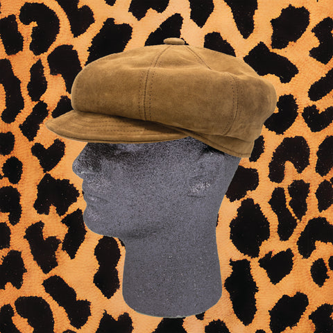 BROWN SUEDE 'SPITFIRE' HAT