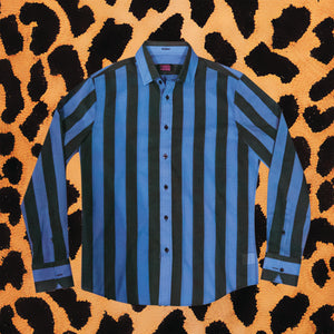 JAKE & JIMMY BLUE/BLACK BUTTON DOWN (MENS)