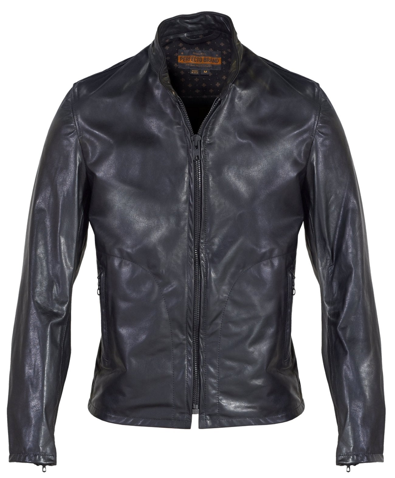 SCHOTT MISSION MEN'S LEATHER JACKET