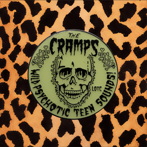 "CRAMPS ""PSYCHOTIC TEEN"" ENAMEL PIN"