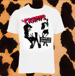 "THE CRAMPS ""SMELL OF FEMALE SHIRT"" (UNISEX)"