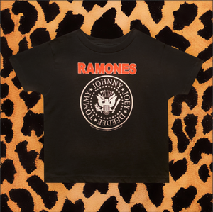 "THE RAMONES ""EMBLEM"" KIDS T-SHIRT"