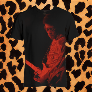 JIMI HENDRIX SUBWAY T SHIRT (UNISEX/FITTED)