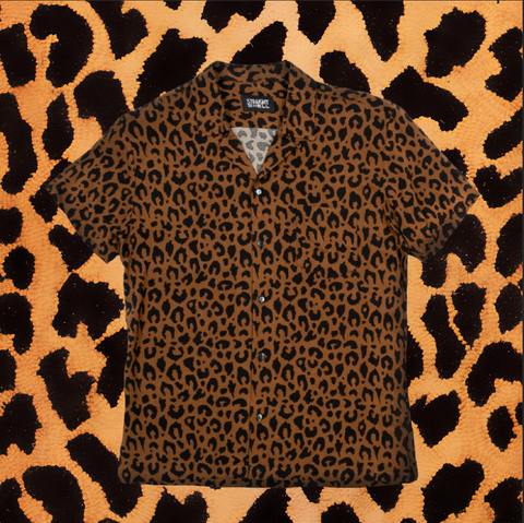 "STRAIGHT TO HELL ""BOSS"" LEOPARD SHIRT (MEN'S)"