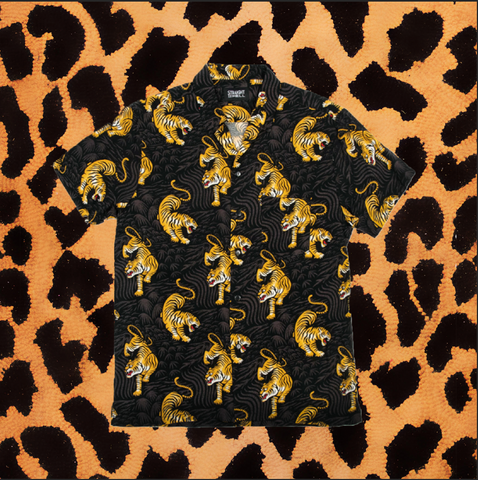 "STRAIGHT TO HELL ""TIGER HERO"" SHIRT (MEN'S)"