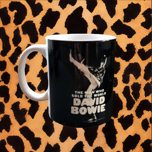 "DAVID BOWIE ""MAN WHO SOLD THE WORLD"" MUG"