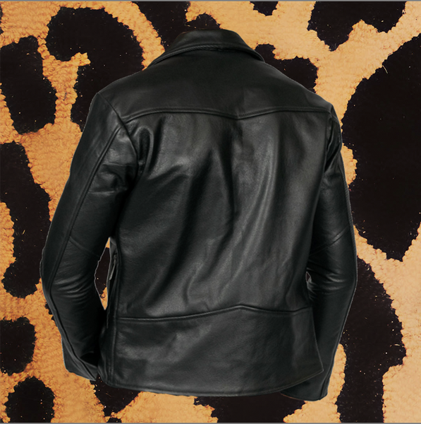 "STRAIGHT TO HELL ""BRISTOL LIGHTWEIGHT"" LEATHER JACKET (MEN'S)"