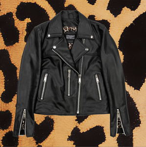 "STRAIGHT TO HELL ""BRISTOL LIGHTWEIGHT"" LEATHER JACKET (WOMEN'S)"