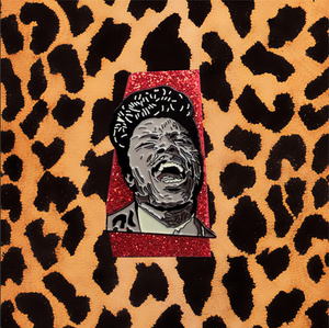 """HERE'S LITTLE RICHARD"" ENAMEL PIN"