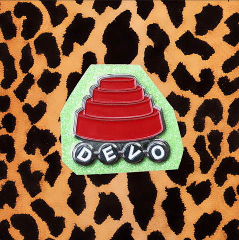 "DEVO ""ENERGY DOME"" LOGO ENAMEL PIN"