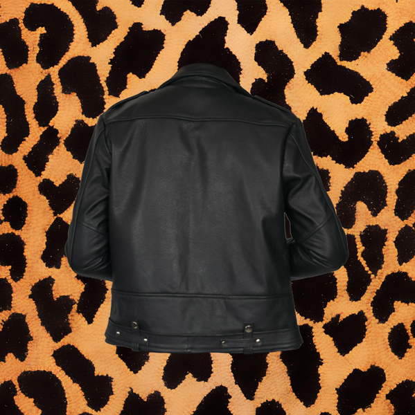 "STRAIGHT TO HELL ""COMMANDO"" MENS LEATHER JACKET (CLASSIC FIT)"