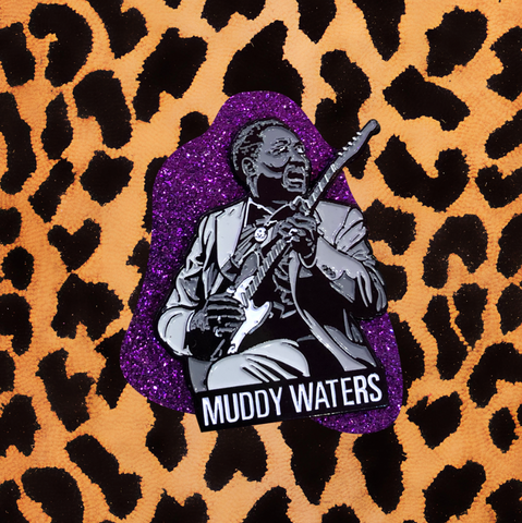 MUDDY WATERS ENAMEL PIN'