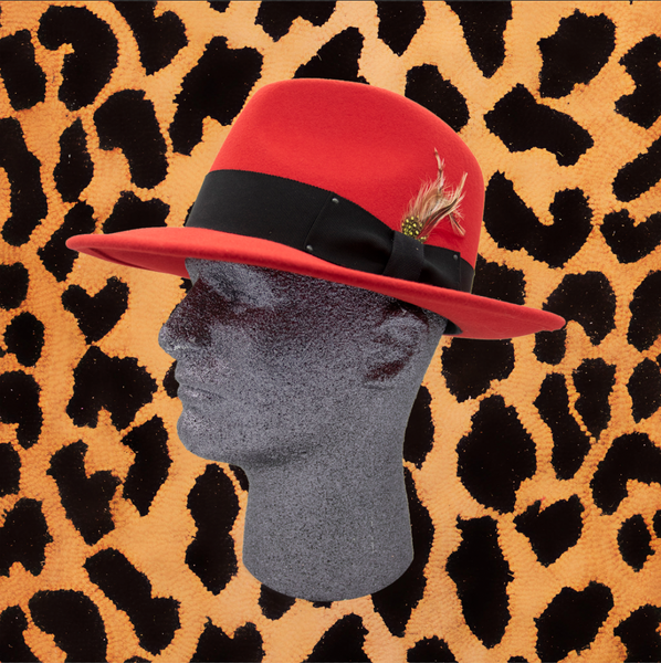 BAILEY HAT'S (CLASSIC FEDORA HAT/ RED)