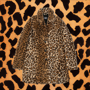 "STRAIGHT TO HELL ""WANDA"" LEOPARD FUR COAT (UNISEX)"