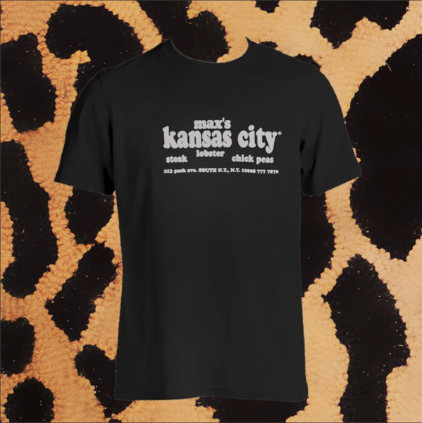 MAX'S KANSAS CITY T-SHIRT (UNISEX)