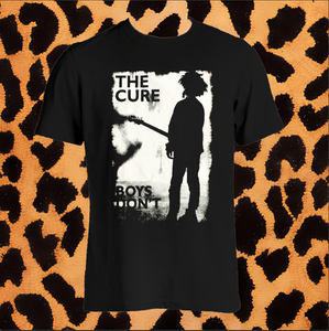 "THE CURE ""BOYS DONT CRY"" TSHIRT (UNISEX)"