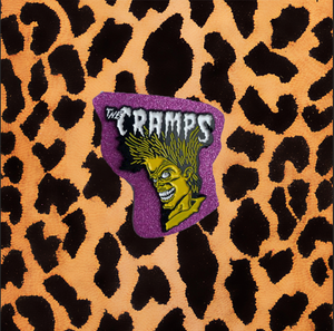 THE CRAMPS BAD MUSIC FOR BAD PEOPLE ENAMEL PIN