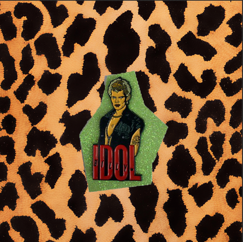 BILLY IDOL ENAMEL PIN