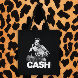 "JOHNNY CASH ""FINGER"" TOTE"
