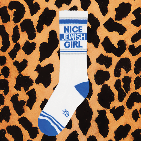 """NICE JEWISH GIRL"" SOCKS"